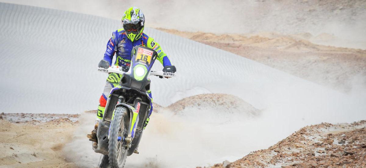Dakar, étape 8: première victoire pour Michael Metge, et abandon de Van Beveren!