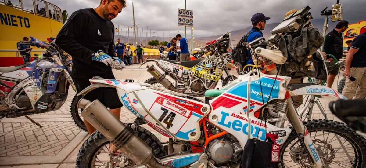 Après une première semaine de course, Nicolas Brabeck parle de son Dakar