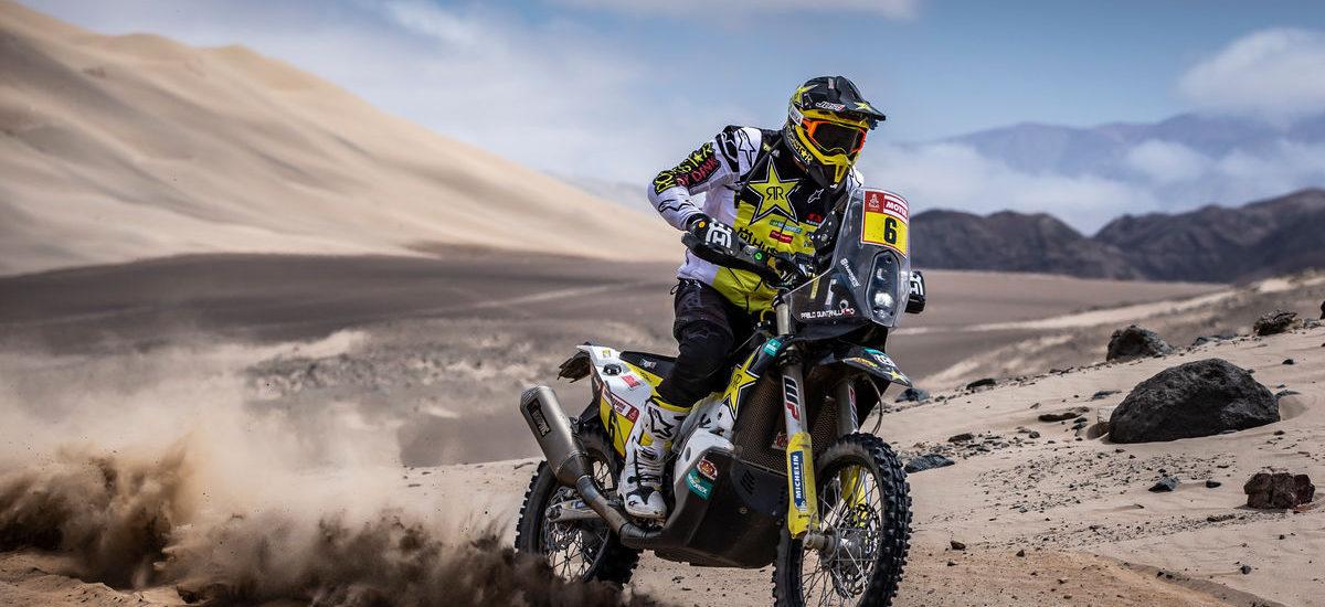 Dakar étape 6: Quintanilla prend la tête du rallye