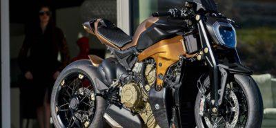 Exclusif, «la» Ducati Panigale V4 naked de passage à Crissier :: Préparation moto