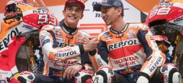 Le team Honda de Marc Márquez et Jorge Lorenzo (presque) prêt