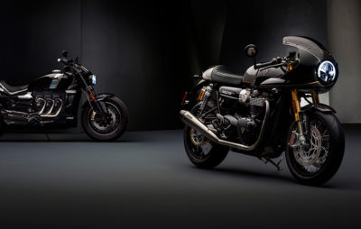 Triumph dévoile deux nouvelles motos du concept TFC :: Nouveautés 2019