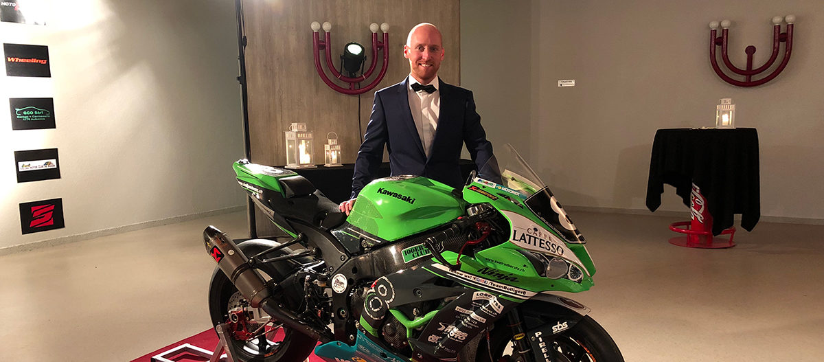 Sébastien Suchet a mis sa tenue de gala en vue de sa saison 2019