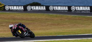 Krummenacher reste en tête de la deuxième journée d'essais pré-saison de Phillip Island
