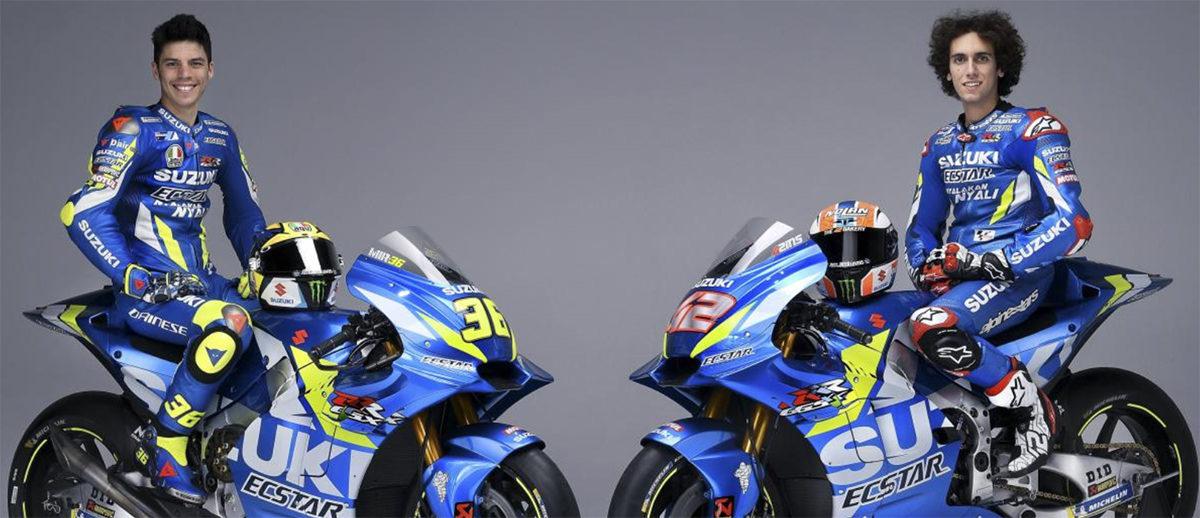 Le team Suzuki Ecstar a présenté ses pilotes et la GSX-RR 2019