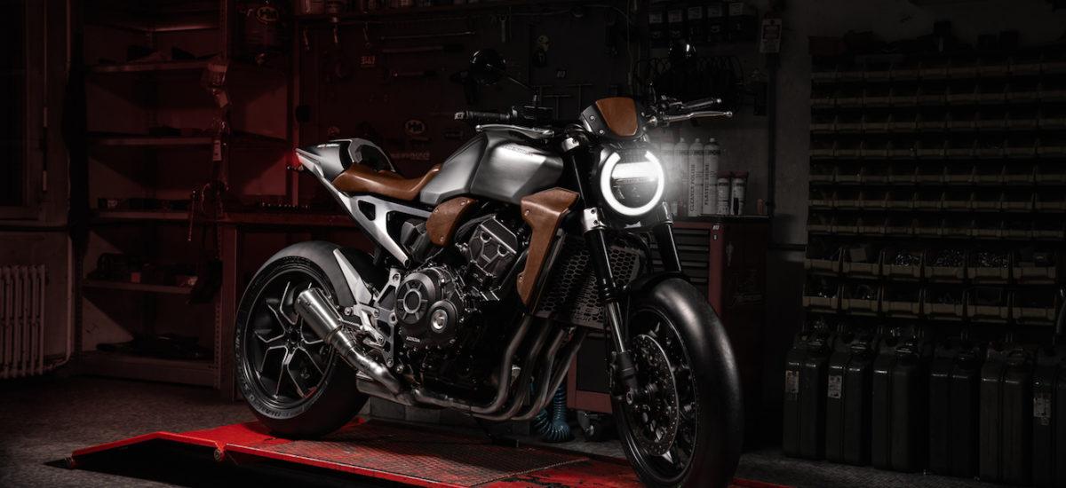 La Honda CB 1000 R façon cuir de Moto Evasion