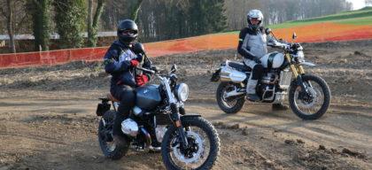 Triumph Scrambler 1200 contre BMW R NineT Scrambler - Actu Moto