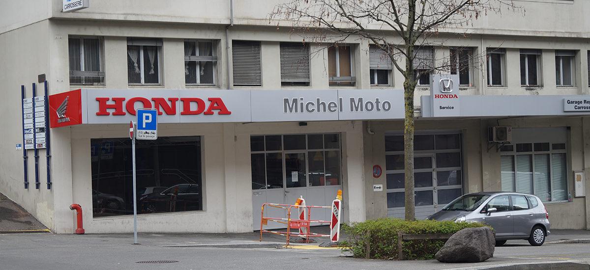 L'enseigne Michel Moto à Lausanne change de «proprio» et d'emplacement