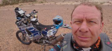 Le Suisse Nicolas Monnin 17ème au Morocco Desert Challenge