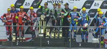 Le SRC (Kawasaki) triomphe sur le fil; belle 5e place du Team Bolliger Switzerland