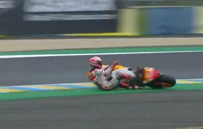 Marquez: une pole position en jouant avec la pluie et la piste :: Sport