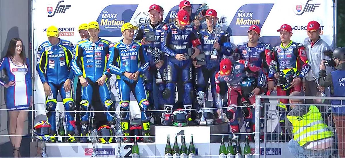 Le Yamaha Austria Racing Team (YART) remporte les 8 Heures du Slovakia Ring