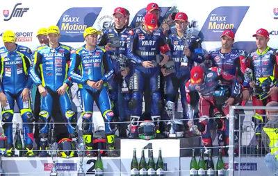 Le Yamaha Austria Racing Team (YART) remporte les 8 Heures du Slovakia Ring :: EWC