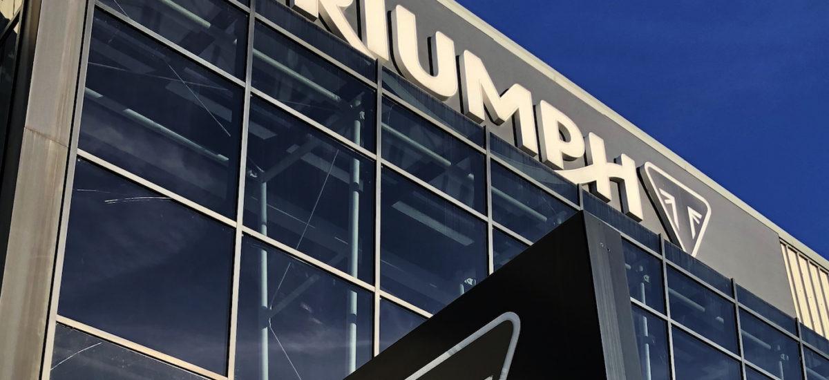 Triumph Motorcycles veut réduire son personnel