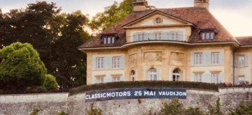 Des motos et voitures anciennes à admirer au château de Vaudijon!