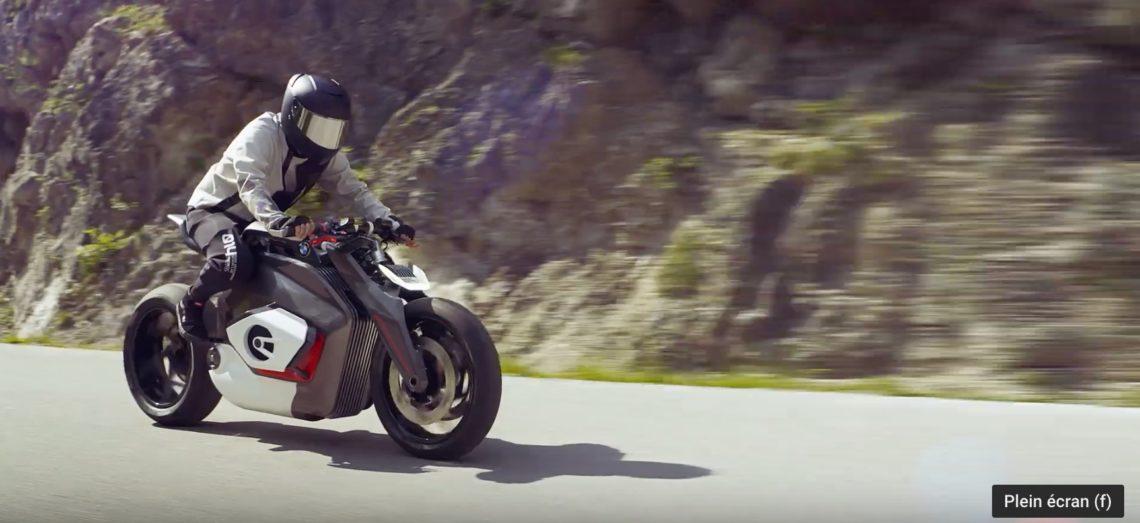 Voici à quoi pourrait ressembler une moto BMW électrique