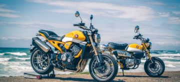 Honda met en valeur le Neo Sports Café au Wheels and Waves 2019