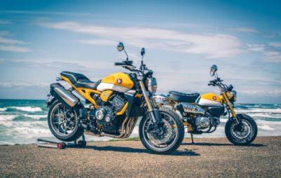 Honda met en valeur le Neo Sports Café au Wheels and Waves 2019 :: Customisation