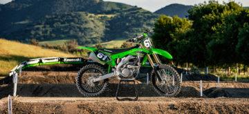 Une Kawasaki KX250 version 2020 plus puissante!
