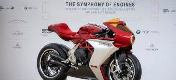 La MV Agusta Superveloce 800 sera produite en série limitée
