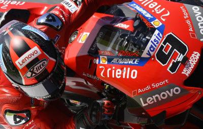 Danilo Petrucci remporte sa première victoire en MotoGP lors d'une course folle :: MotoGP GP d'Italie