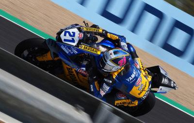 Deuxième, Randy Krummenacher fait preuve de sagesse en pensant au championnat :: WorldSSP Jerez