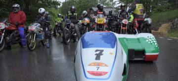 Sept montées et des pilotes de valeur pour la Rétro Moto de Saint-Cergue