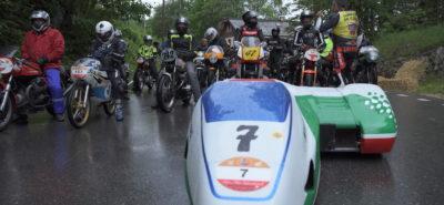 Sept montées et des pilotes de valeur pour la Rétro Moto de Saint-Cergue :: Manifestation 2019