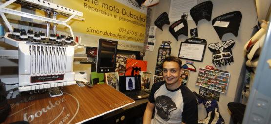 Simon Dubouloz, sellier et mécano en GP et en endurance