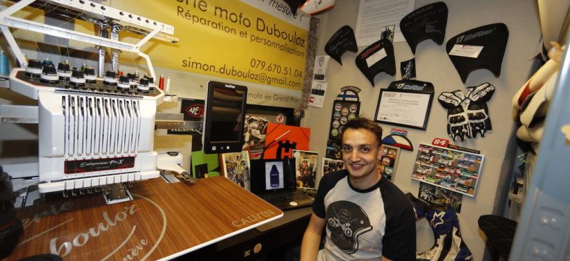 Simon Dubouloz, sellier et mécano en GP et en endurance :: Artisan :: ActuMoto