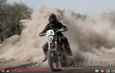 Il finit cinquième au rallye du Mexique sur un Triumph Scrambler 1200! :: Compétition tout-terrain