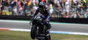Maverick Vinales redonne le goût de la victoire à Yamaha