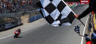 Chaz Davies remporte sa première course de l'année à Laguna Seca :: Mondial Superbike 2019