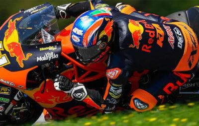 Brad Binder a célébré son anniversaire par une victoire étincelante :: Moto2 Autriche
