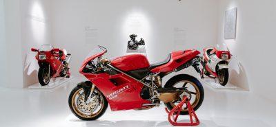 La 916 de Tamburini au Musée Ducati de Borgo Panigale :: Icône