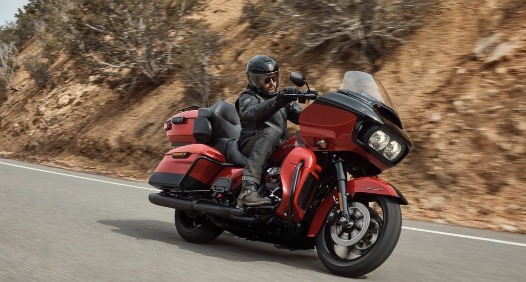 Le contrôle de traction et l'ABS de virage aussi pour les Harley Touring