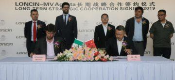 MV Agusta s'allie au chinois Loncin pour se développer en Asie