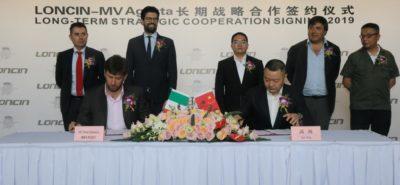 MV Agusta s'allie au chinois Loncin pour se développer en Asie :: Actu