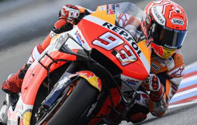 Marc Marquez fait ce qu'il veut, quand il veut. Et, il le fait bien! :: MotoGP Brno