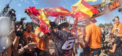 Jorge Prado est champion du monde MX2 et passera en MXGP :: Mondial MX2 2019