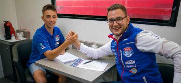 Le Fribourgeois Jason Dupasquier découvrira la Moto3 en 2020