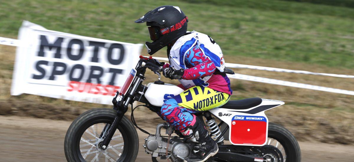 YCF propose les Sunday, deux petites motos pour apprendre le Flat Track
