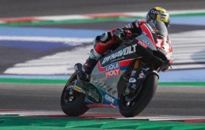 Le Bernois Thomas Lüthi sera cinquième sur la grille d'Aragon, et Marquez en pole :: Mondial Moto2 2019