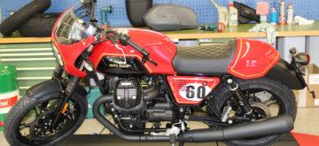 Trois Moto Guzzi Sketch Bikes «suisses»