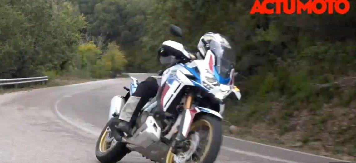L'essai de la nouvelle Honda Africa Twin Adventure Sports 1100 en Sardaigne