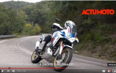 L'essai de la nouvelle Honda Africa Twin Adventure Sports 1100 en Sardaigne :: Une japonaise dans la terre
