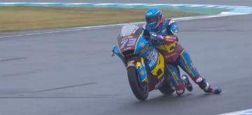 Luca Marini prend la pole position et Alex Marquez fait le spectacle