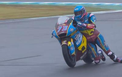 Luca Marini prend la pole position et Alex Marquez fait le spectacle :: Moto2 Japon