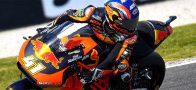 Les KTM Boys Brad Binder et Jorge Martin triomphent devant Thomas Lüthi :: Moto2 Australie