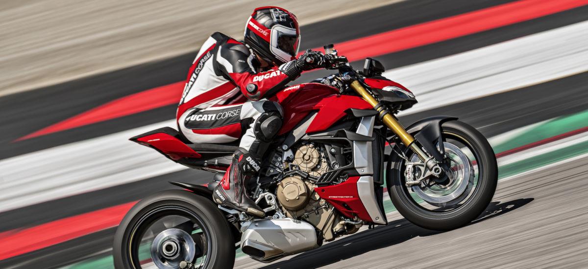 Voici la Ducati Streetfighter V4: 208 chevaux, 178 kg!